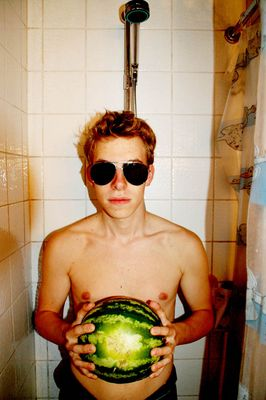 Portrait mit Melone 2