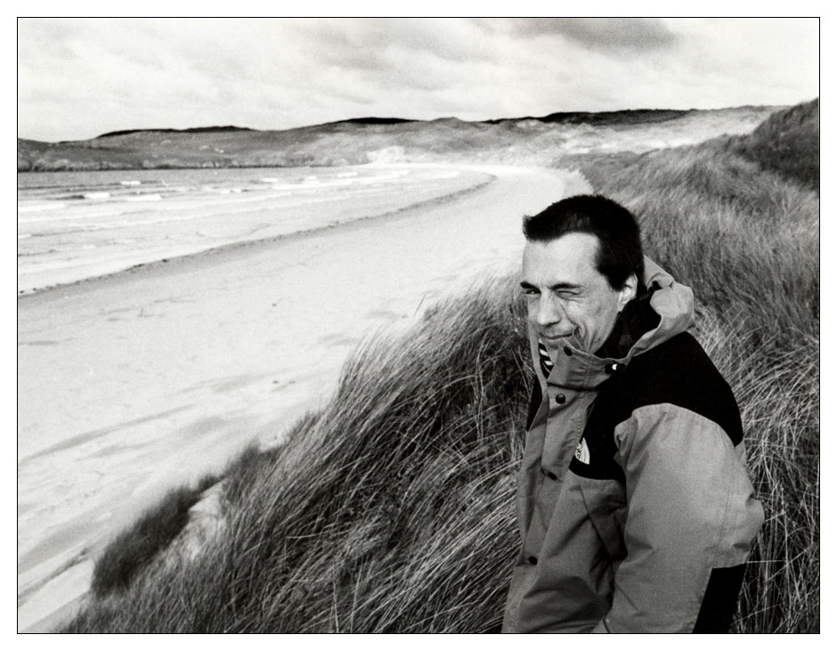 Portrait of an artist as a fairly young man / Donegal /Ireland 1997