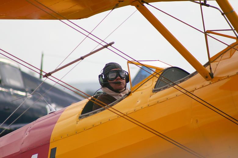 portrait pilote