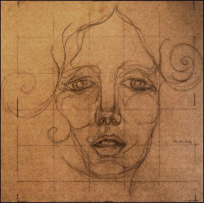 portrait - skizze