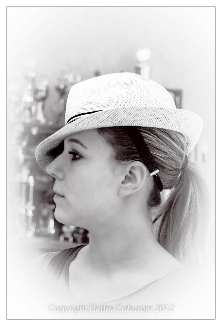 Portrait von Tochter