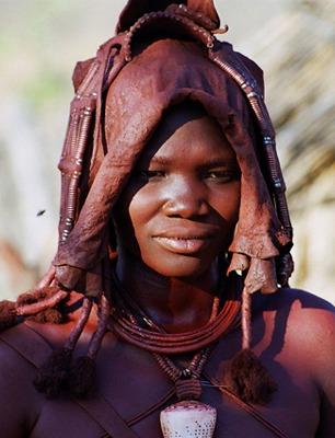 Portret, Namibia
