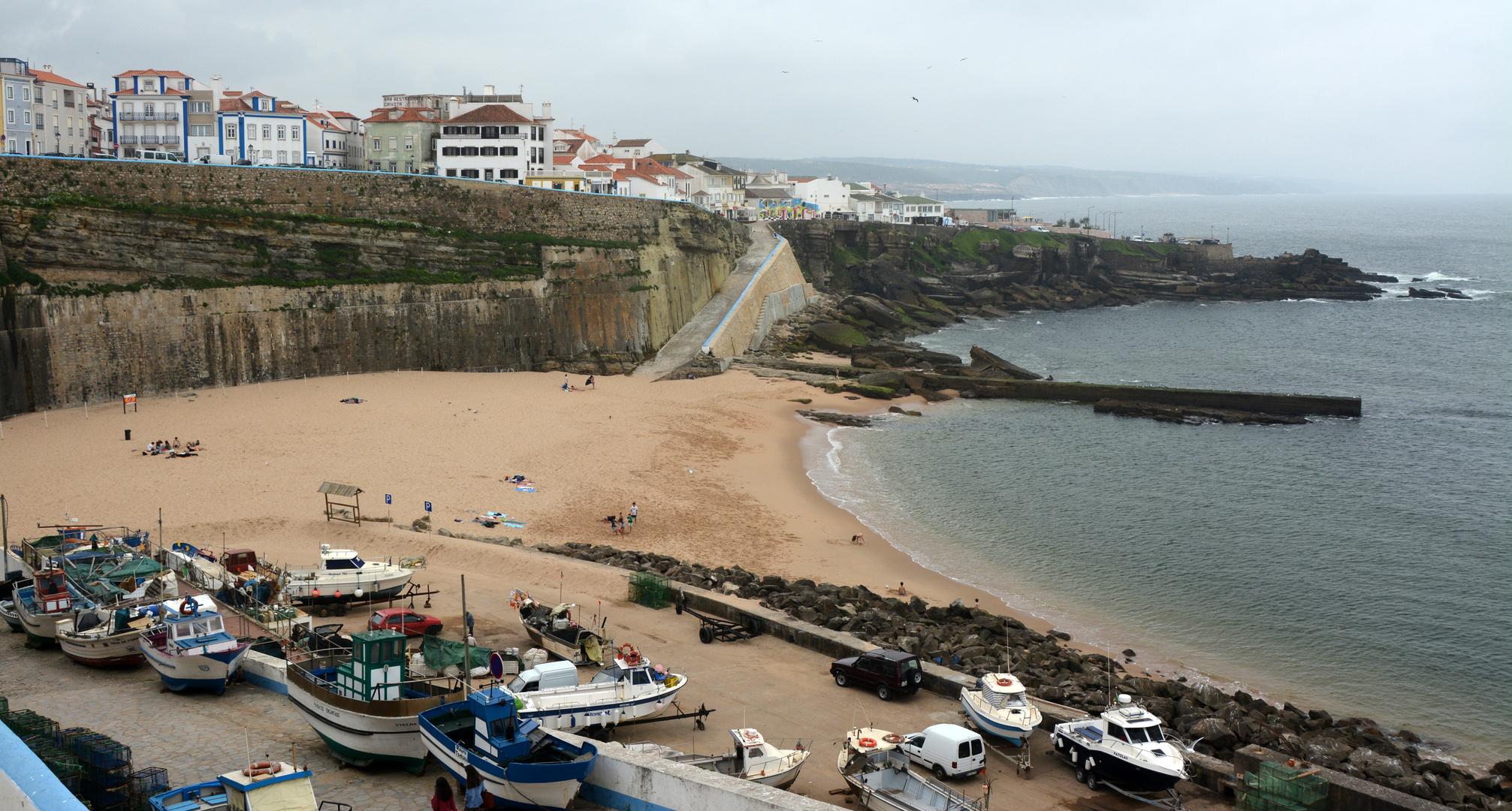 Portugal Fischerhafen in Ericeira