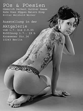 POs & POesien - Ausstellung in der Aktgalerie Berlin