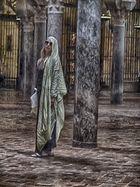 Posando en la Mezquita ( Cordoba )