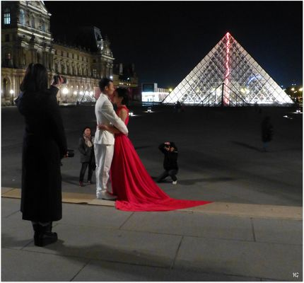 Pose mariage ultime, malgré le froid et la nuit...