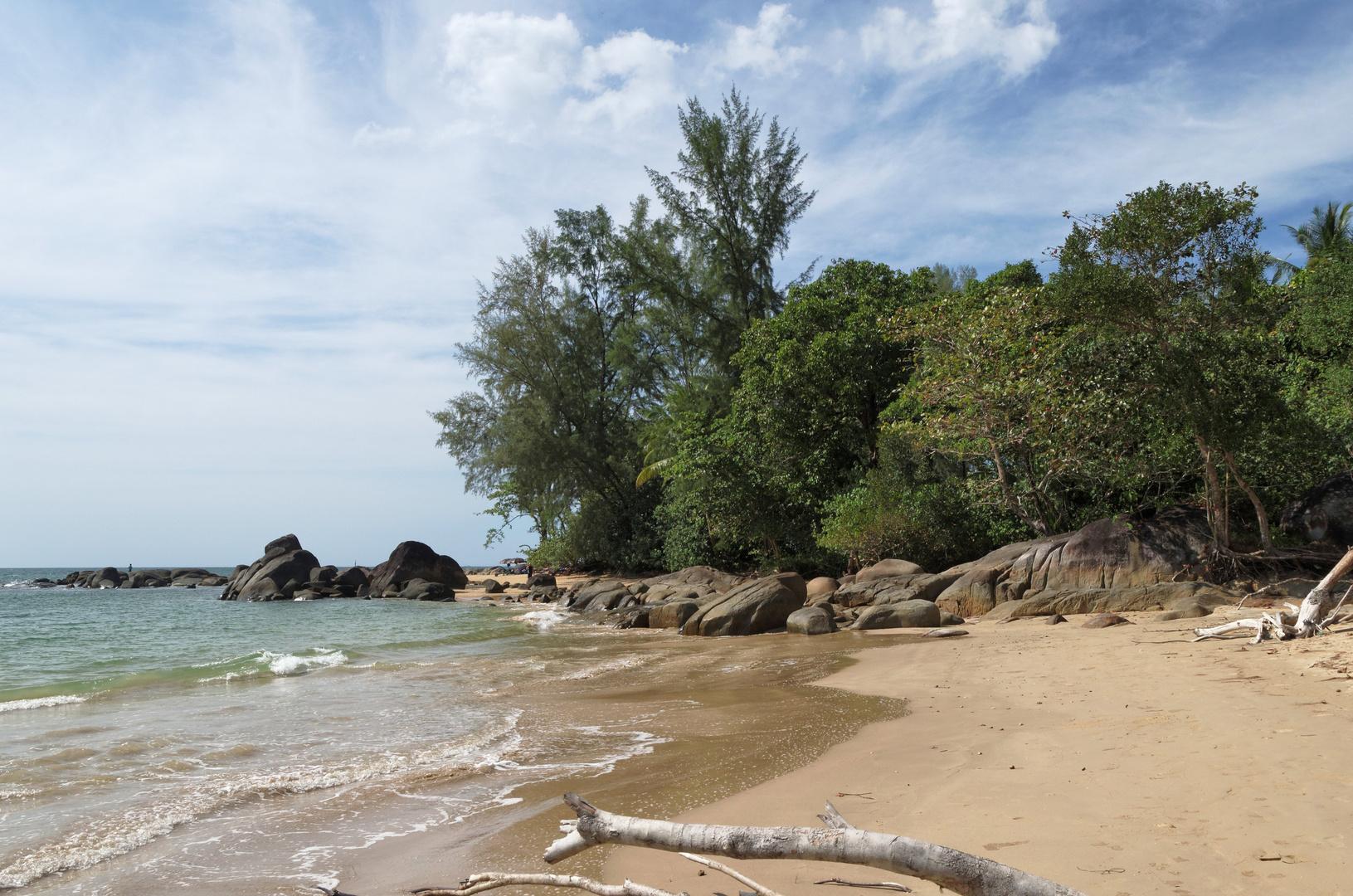 Poseidon Beach, Khao Lak, Phang Nga, Thailand, Februar 2013