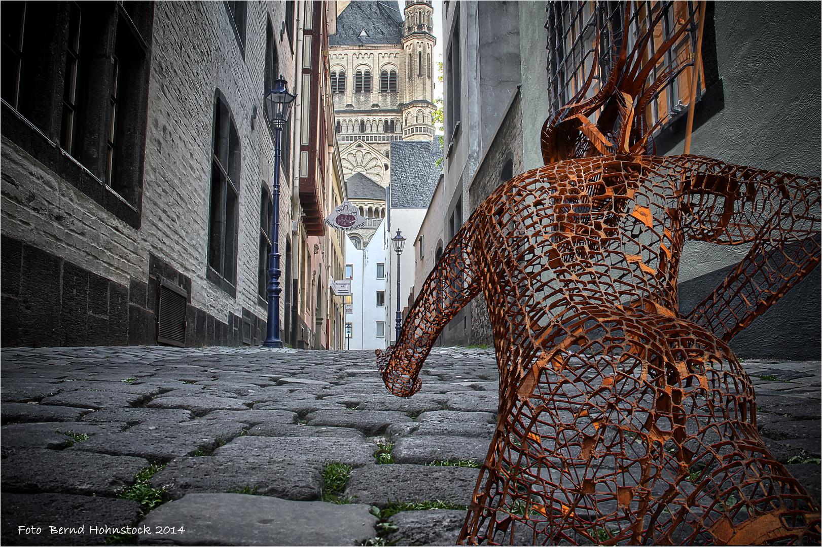 Poseidon in der Altstadt ...