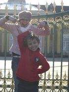 Posieren vor Schloss Sanssouci