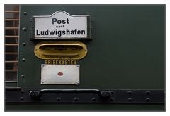 Post nach Ludwigshafen