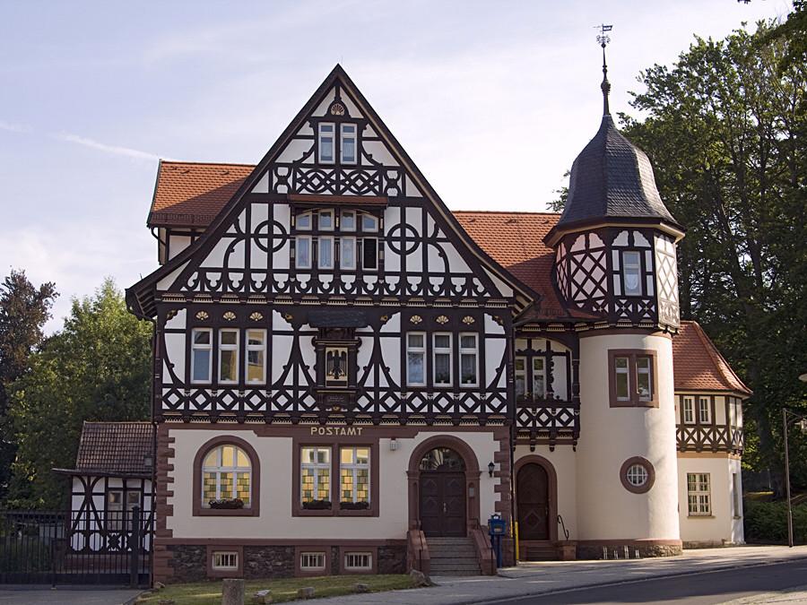 Postamt in Bad Liebenstein