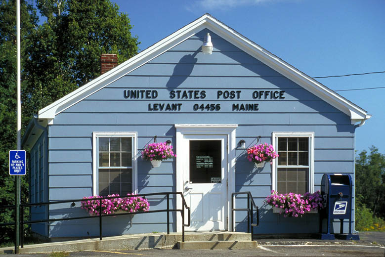Postamt in Levant, Maine