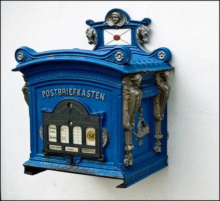 Postbriefkasten von 1898