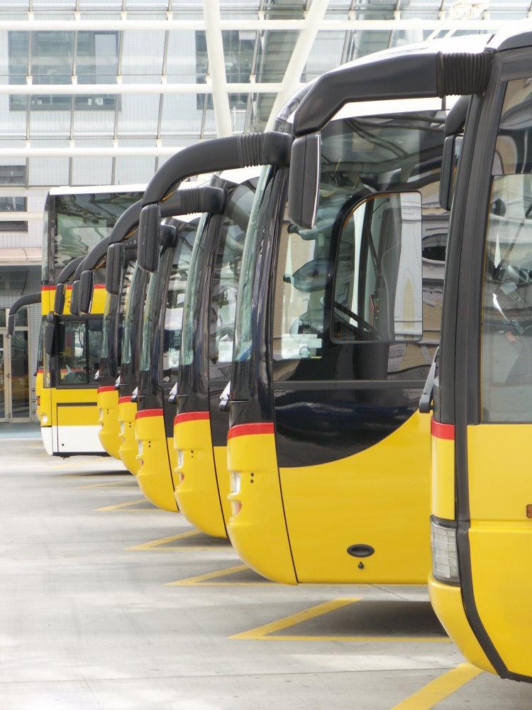 Postbusse in Chur