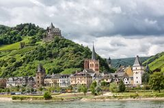 Postcard from my trip up the Rhine River