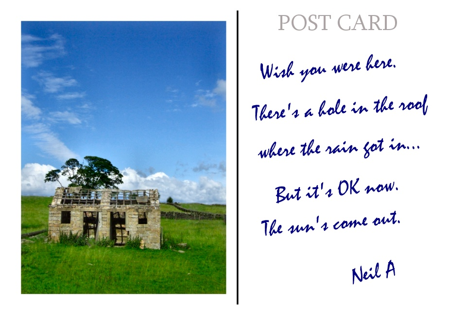 Postcard from Yorkshire