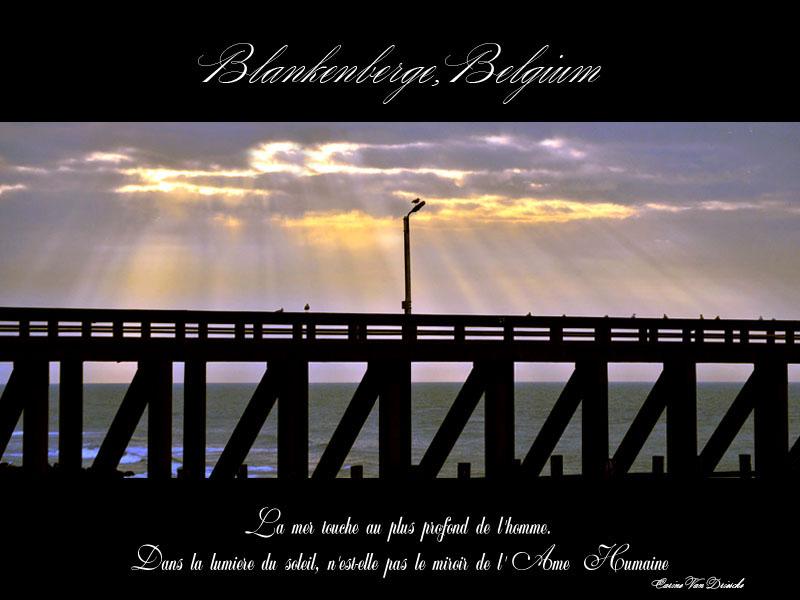 Poster Blankenberge (Belgium)