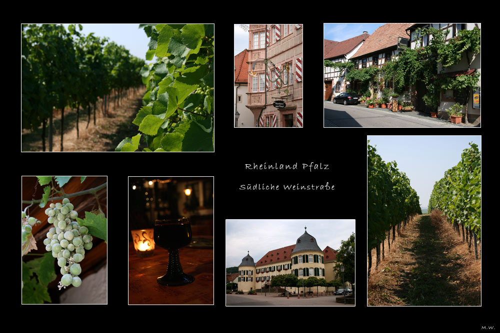 Postkarte aus der Pfalz