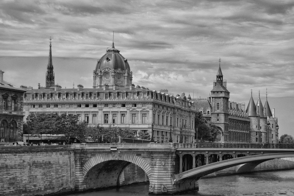 Postkarte aus Paris ...