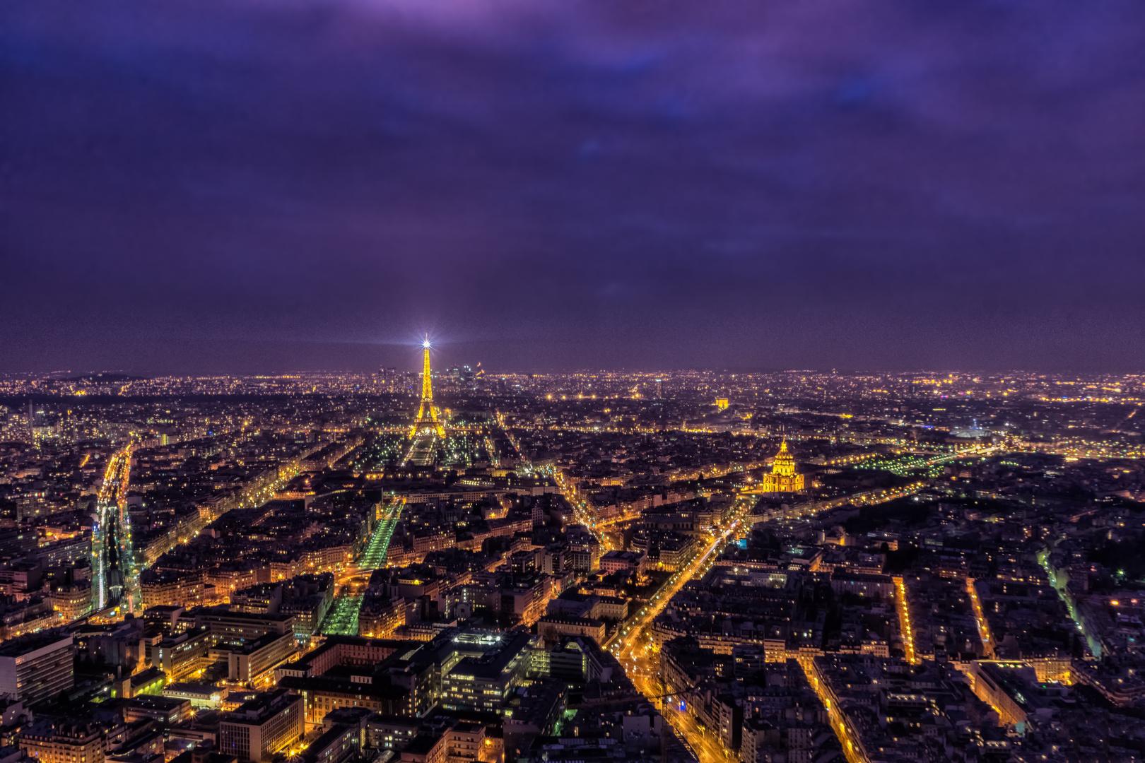 Postkarte aus Paris