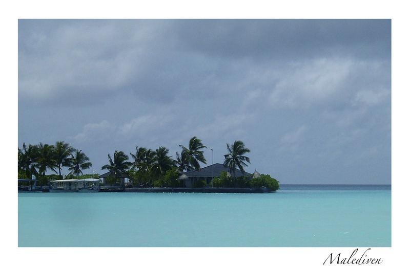 Postkarte Malediven