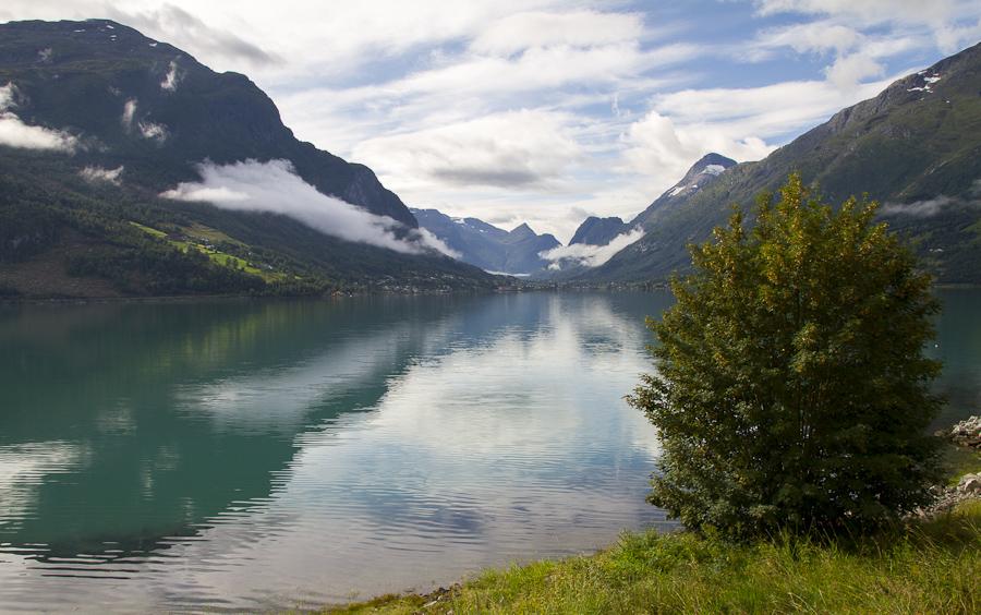 Postkarte von Norwegen