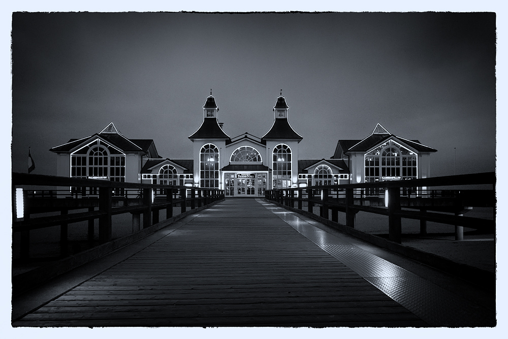 Postkarten-Seebrücke