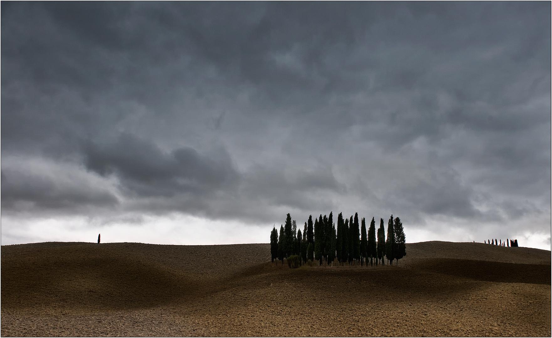 Postkarten-Toskana
