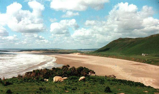 Postkarten-Wales mit weniger Gras :o)