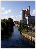 Postkartenansicht des Landwehrkanals