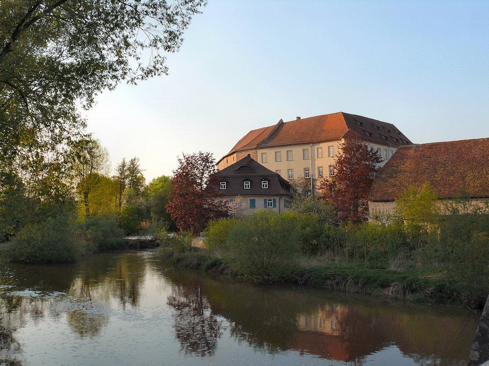 Postkartenidylle in Höchstadt