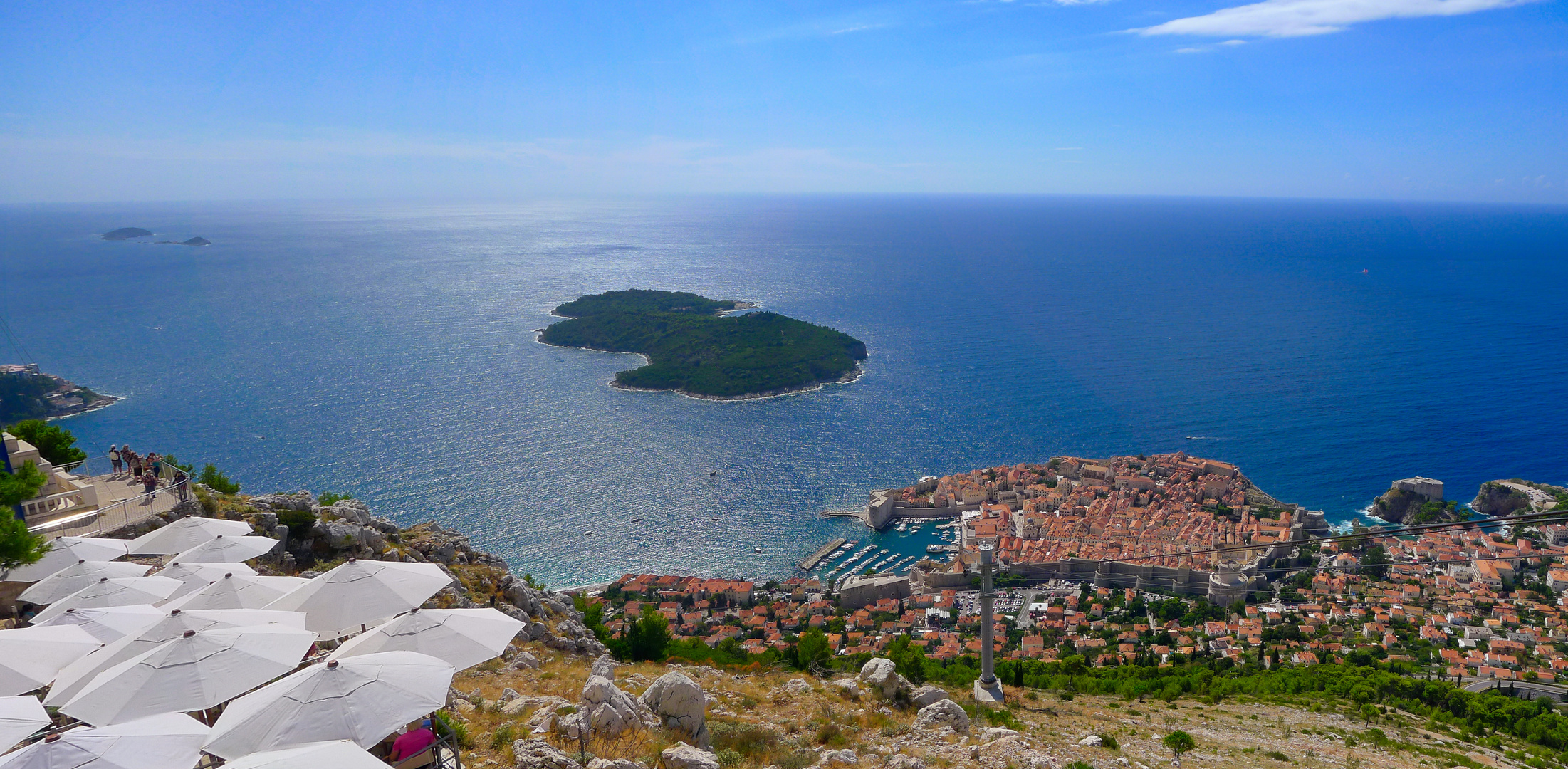 Postkartenidylle über Dubrovnik