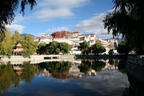 Potala Kloster in Lhasa/Tibet