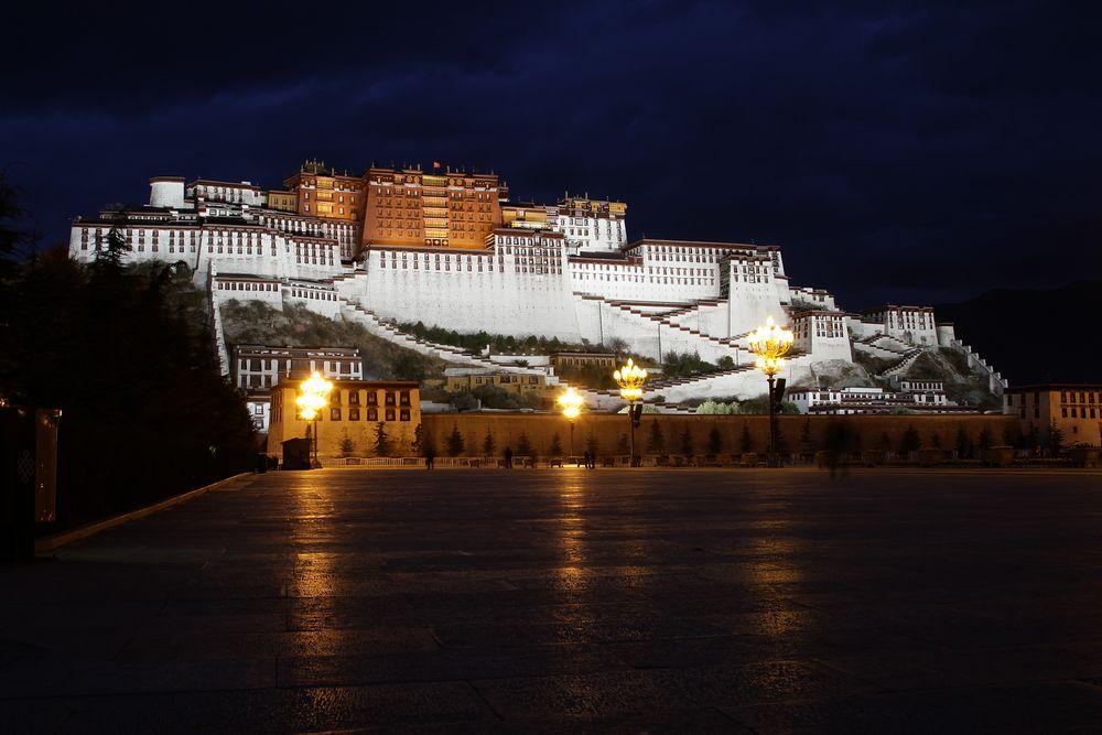 Potala-Palast Lhasa/Tibet von Pitter Kilian