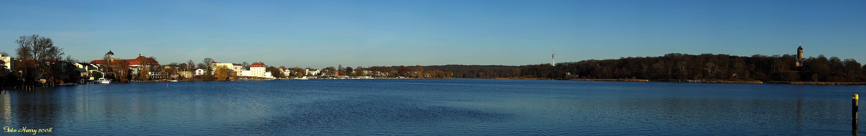 Potsdam,-Blick über die Havel. (Tiefer See)