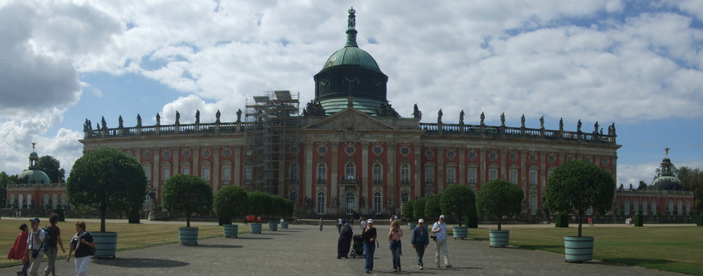 Potsdam, Neues Palais von vorne