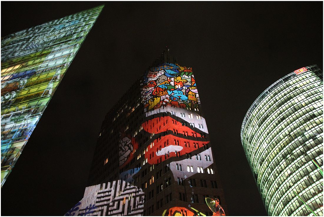 Potsdamer Platz - Festival of Lights 2013