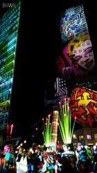 Potsdamer Platz im bunten Licht