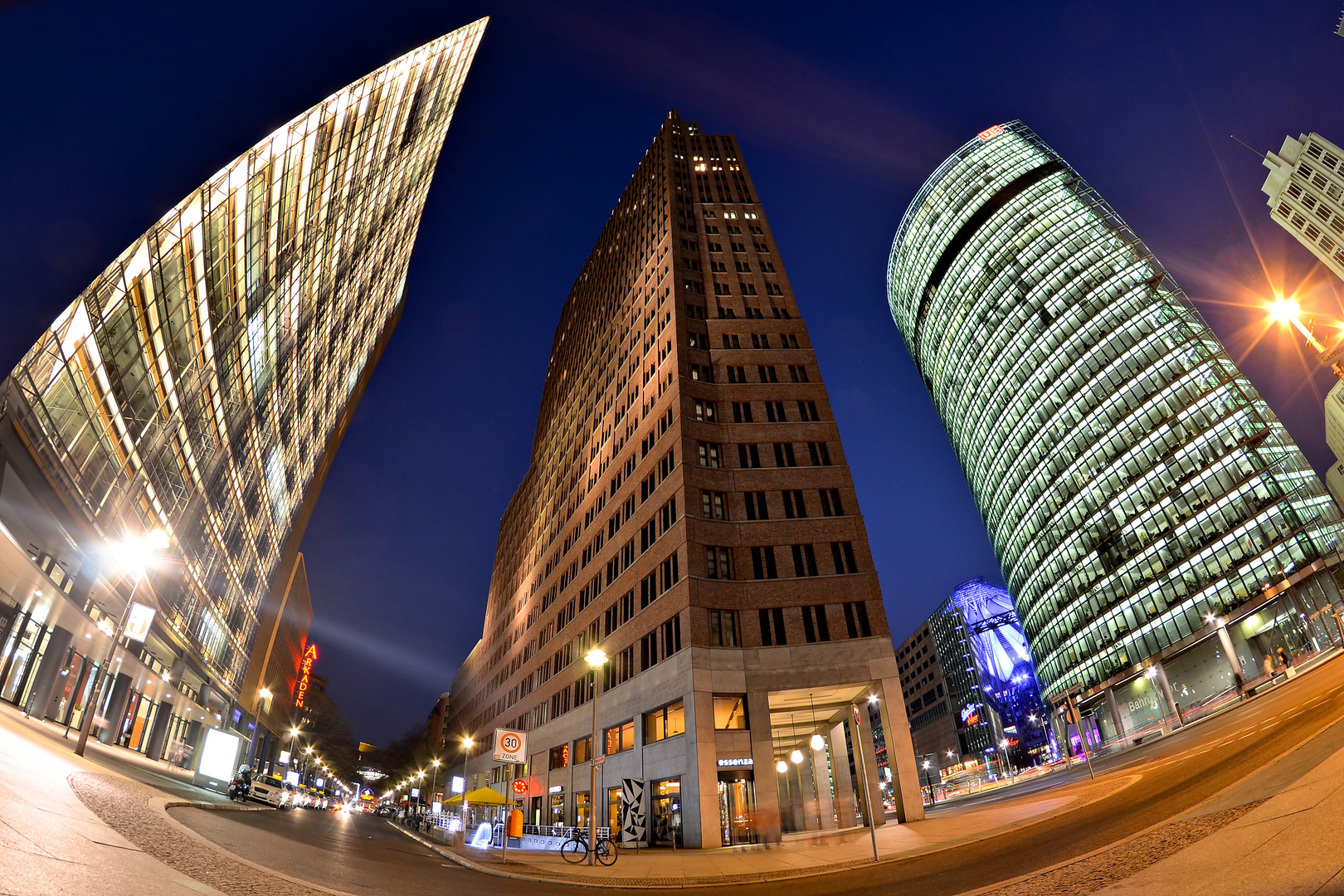 Potsdamer Platz @ Night