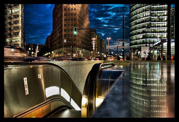Potsdamer Platz - nochmal in bunt