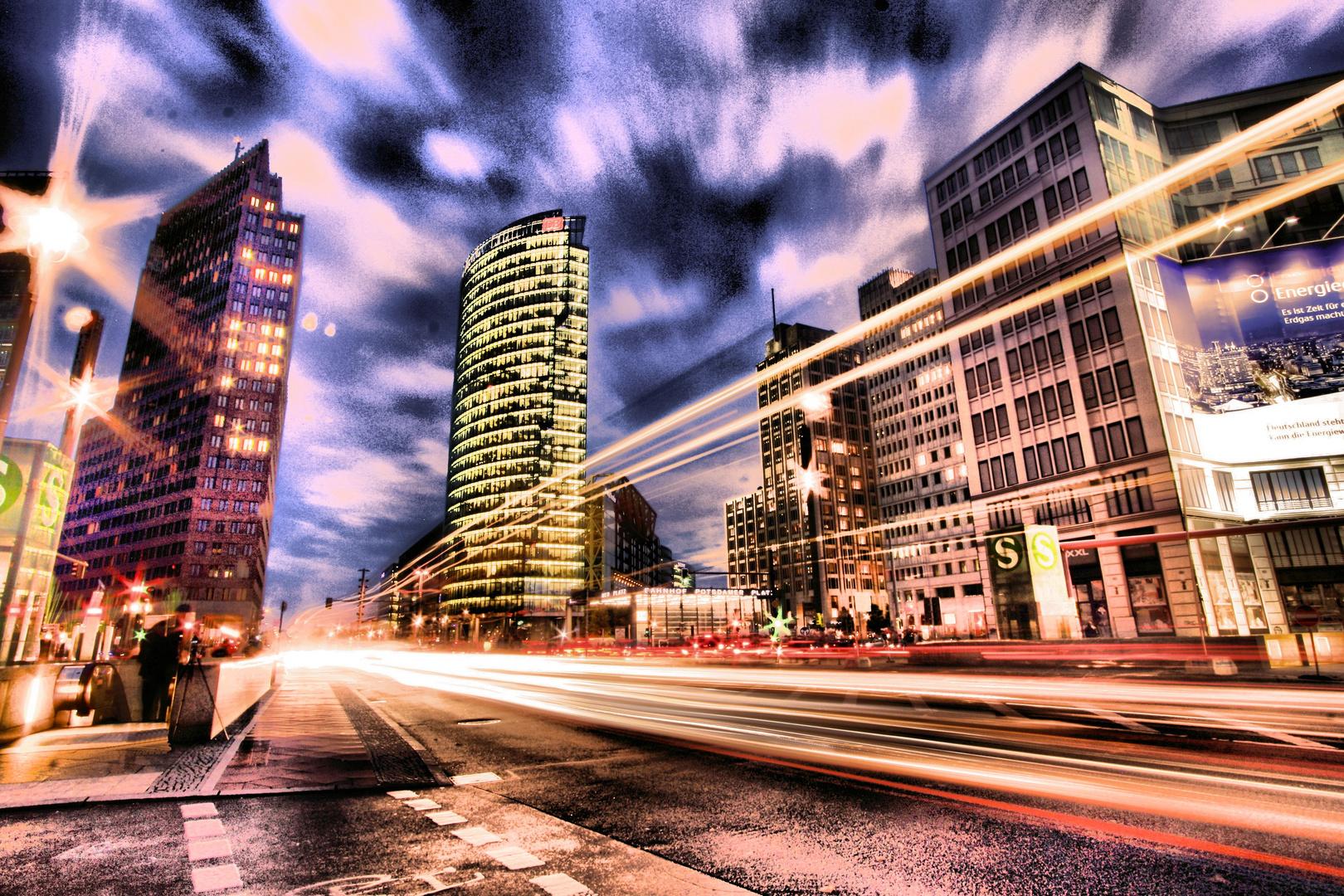Potsdamer Platz - Warp-Geschwindigkeit 1