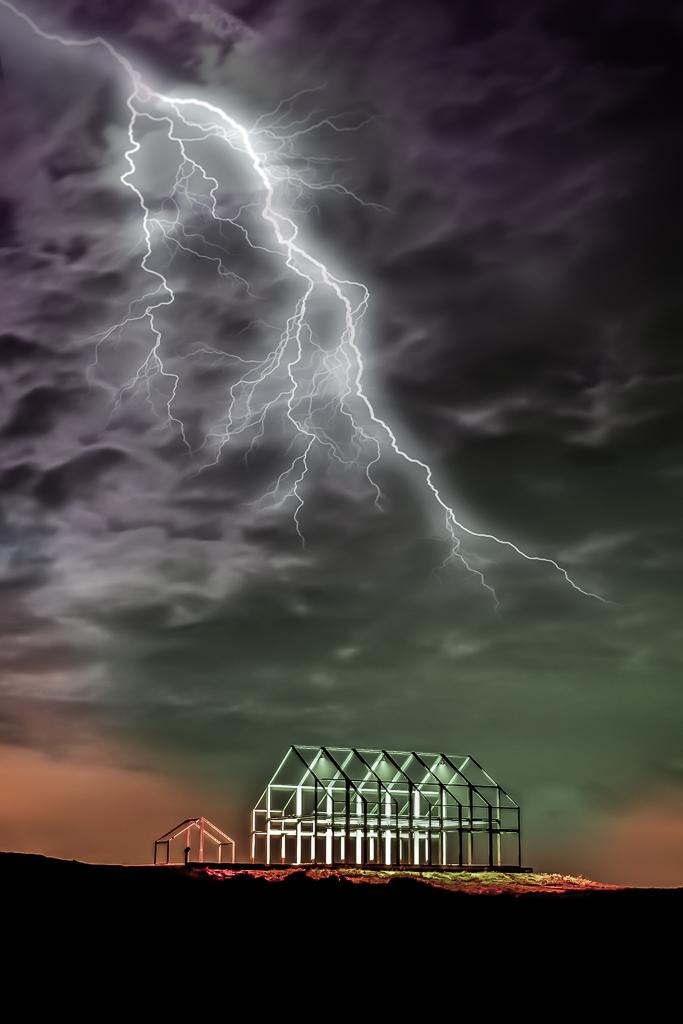 Potz Blitz das Haldenhaus