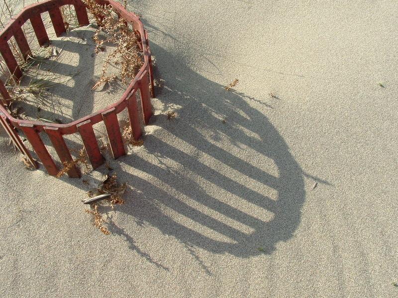 Poubelle de plage