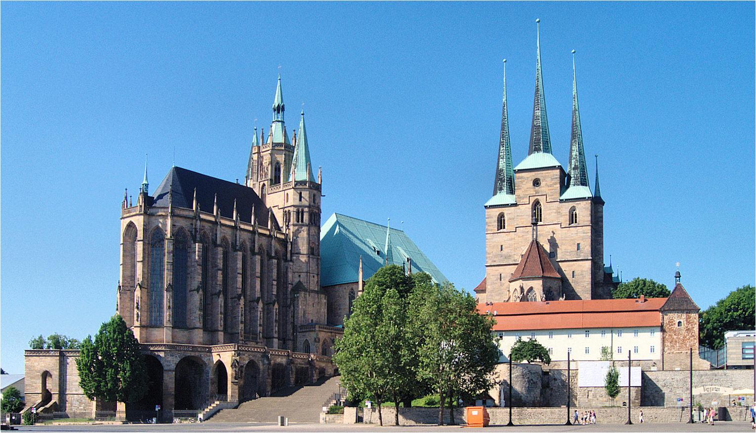 pour faire la connaisance de ma ville: Erfurt
