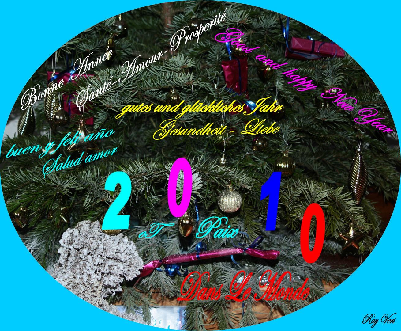 Pour la Nouvelle Année qui Nous Arrive