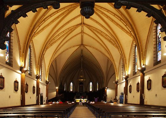 Pour la Toussaint : Cathédrale Saint-Joseph  - Nouméa -  Für Allerheiligen : St Joseph Kathedrale