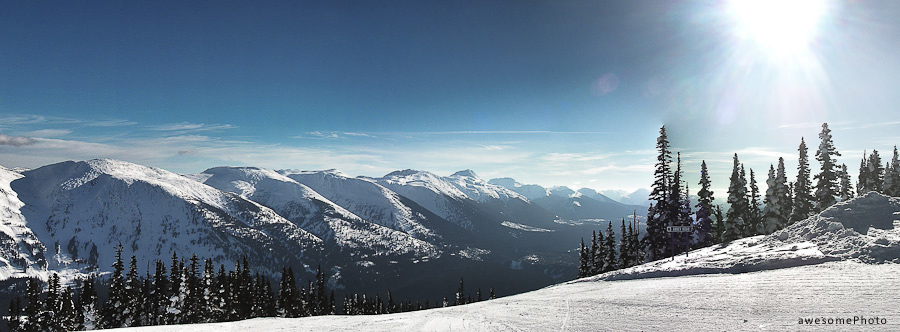 Powder King Panorama