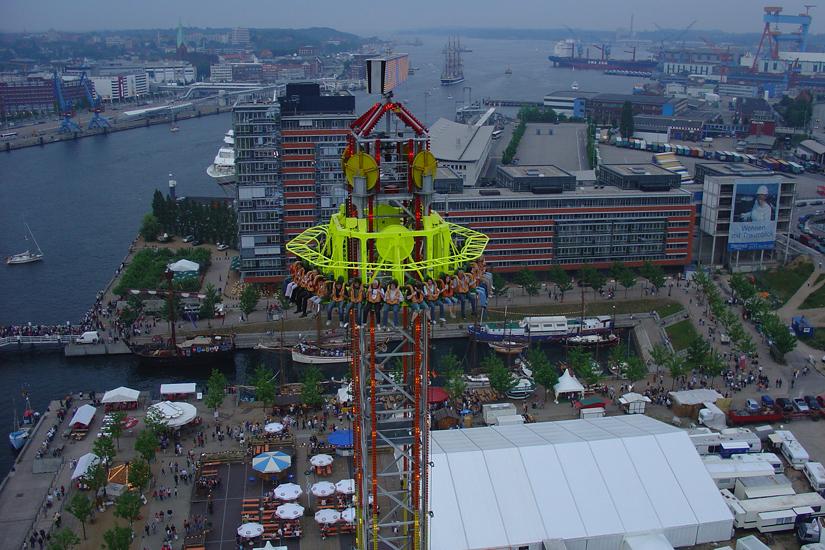 Power Tower 2 hoch über Kiel reload