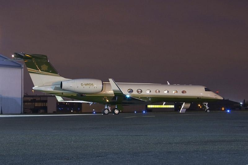 Powerful --> Gulfstream G550