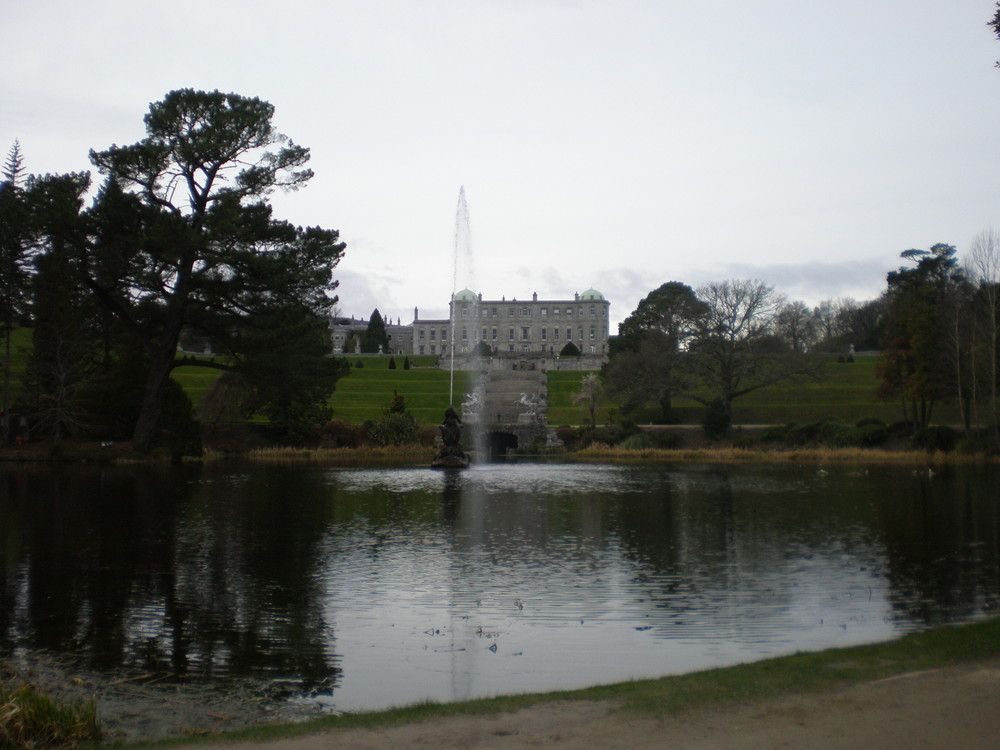 Powerscourt House.